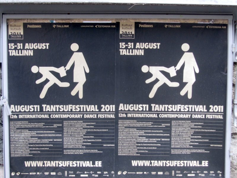 at first we thought this was advertising a purse snatching festival!