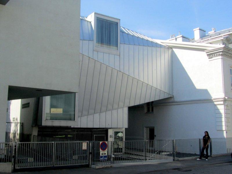 a few very modern buildings as well!