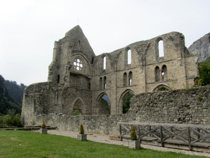 the monastery was abolished in the 18th-c....