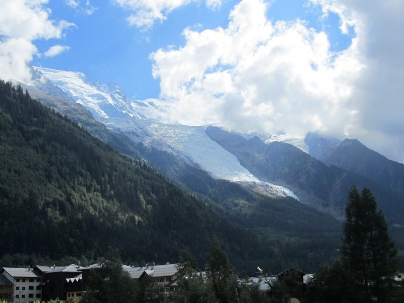 now we are heading to Chamonix, in the shadow of the Mont Blanc massif