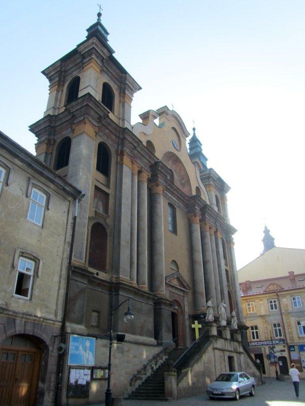 a late baroque Franciscan church