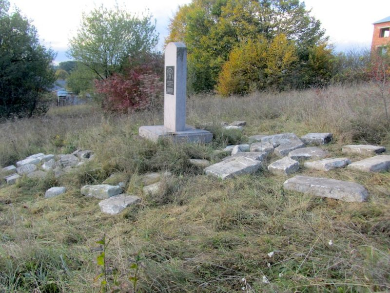 we visit the new cemetery to transfer stones...
