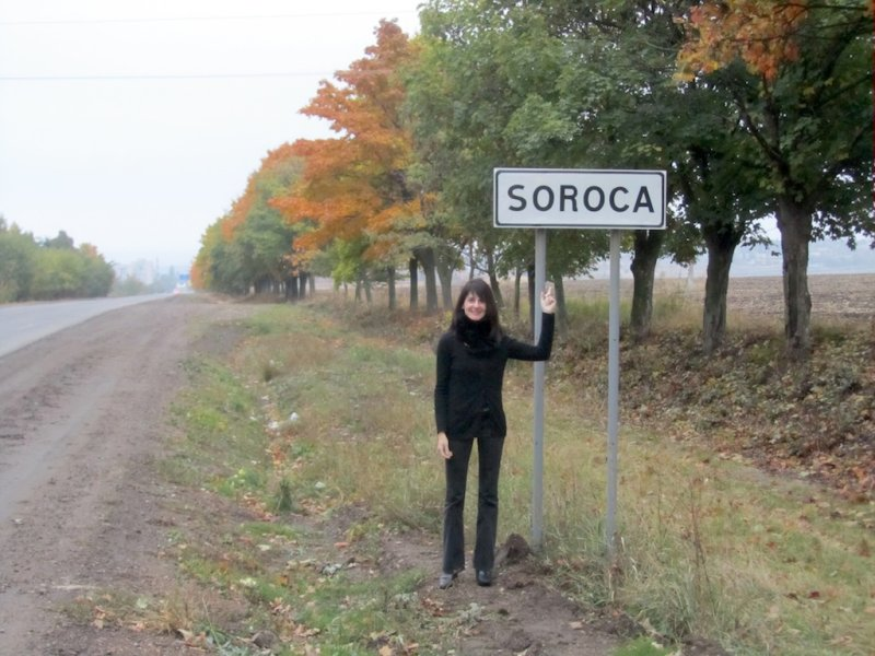 but we arrive quickly at Soroca, where Marlas Blecher ancestors lived