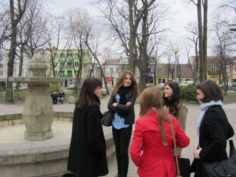 On the charming rynek, a fond farewell and a promise to return!