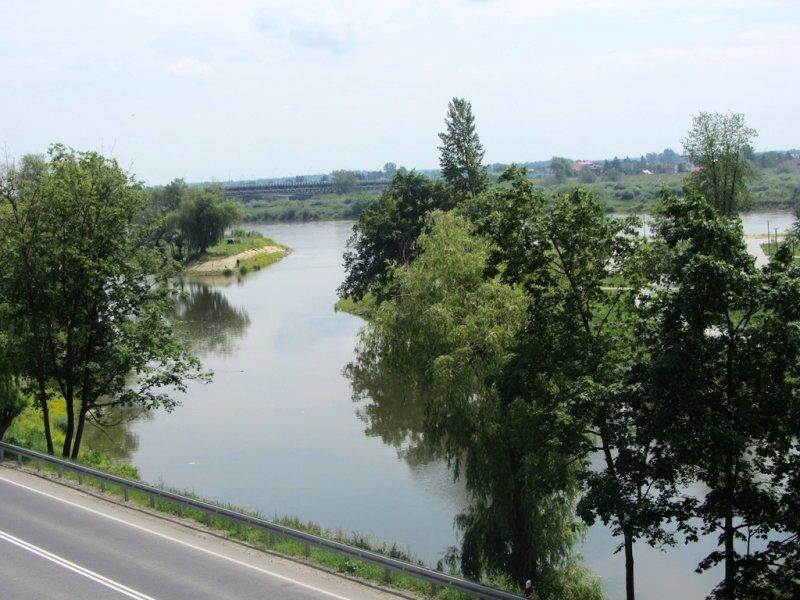 a view along the Wisla
