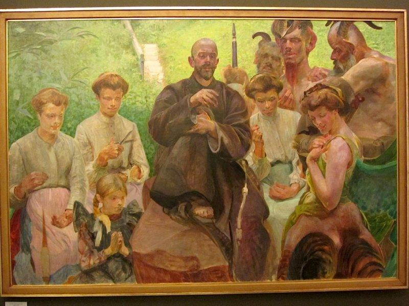 a special exhibit on Jacek Malczewski and his son Rafal
