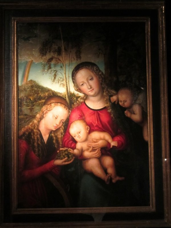 Mary and Catherine by the elder Cranach