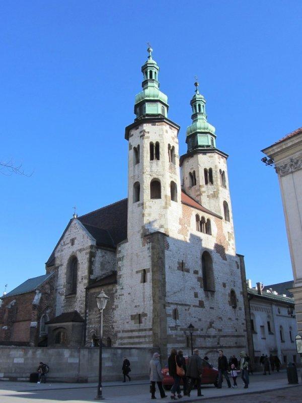 the Saint Andrew church