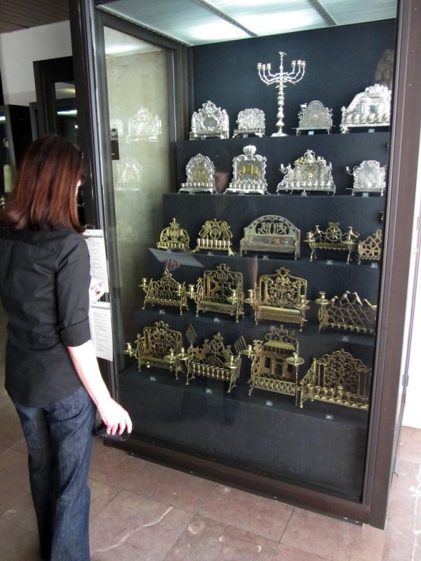 the museum also has a large collection of Judaica