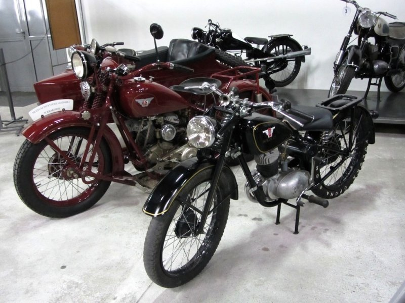 the start of the Polish motorcycle industry