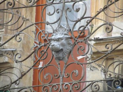 the lion, symbol of Lviv