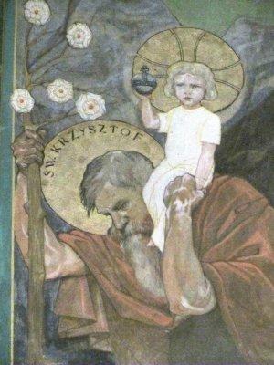 Saint Christopher, patron saint of travelers