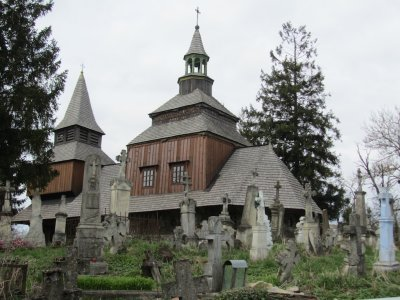...to the Holy Spirit church, a 16th c. wooden church in excellent condition