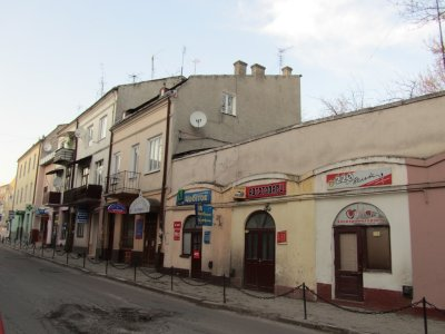 on Halytska street, an important block for Marlas Horn relatives and other friends families