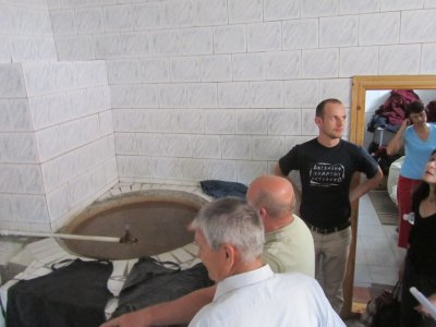and in the mikveh
