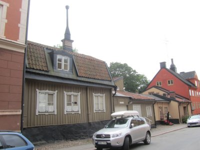 Södermalm is an old and once-poor part of Stockholm...