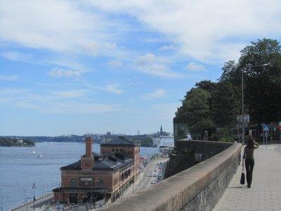 looking eastward toward the Baltic