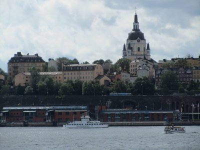 a view back toward Södermalm