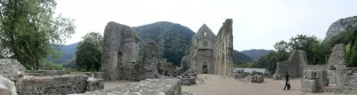 pano: abbey of St. Jean dAulps