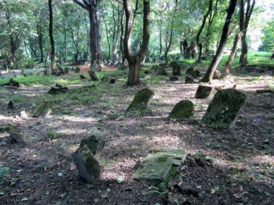 Rauchers were buried somewhere here in the 19th-c.
