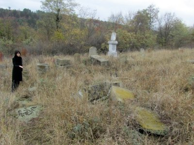 there are also sections for Bukovina Jews brought here during the war