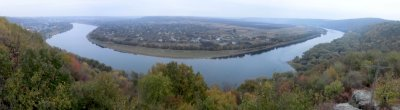 pano: Dniester river from the Candle
