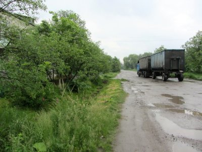here is the Zavoda area, a site where many stones were found in 2011...