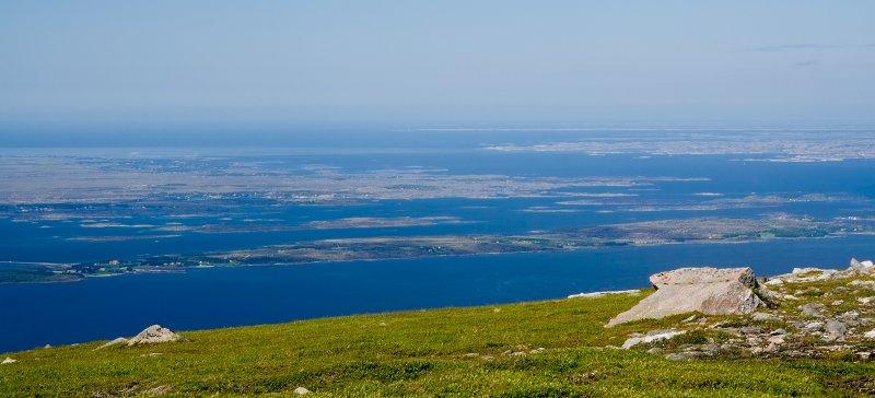 Island Smøla - view from Skarven on Tustna