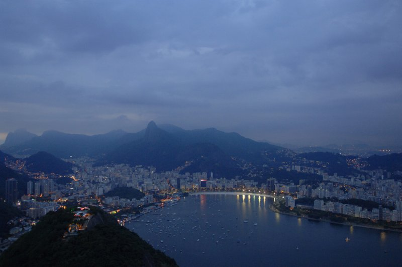 Evening on Rio and Airport