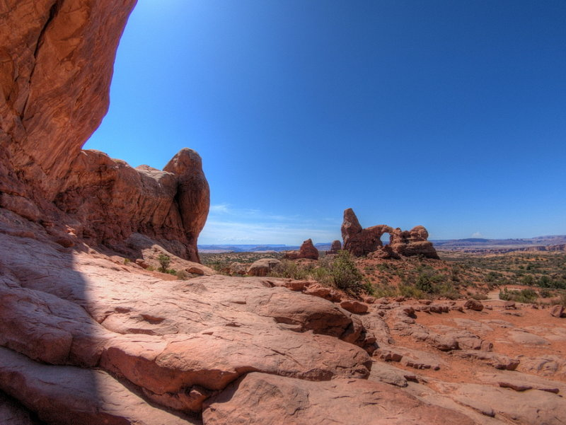 Turret Arch from South Window