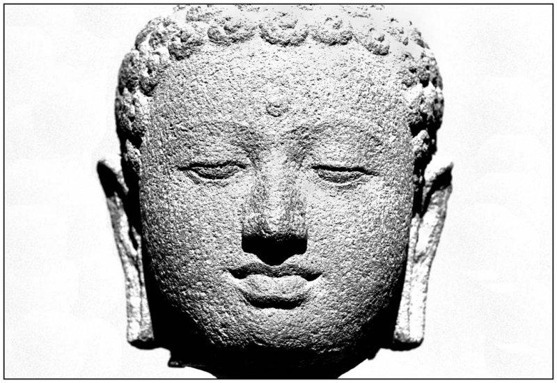 Buddha head-Guimet Museum-Paris