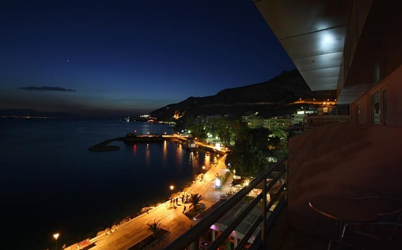 Loutraki,view from hotel