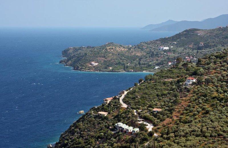 coastline near Apollon