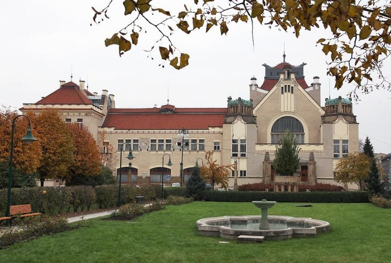 National House in Prostejov,Jan Kotera