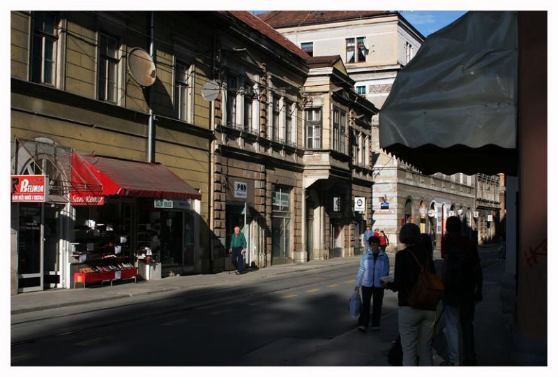 Sarajevo,on a mainstreet