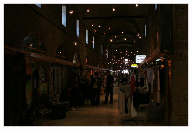 Old bazar inside