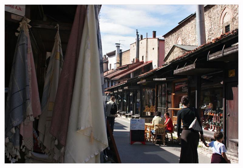 In bazaar quarter