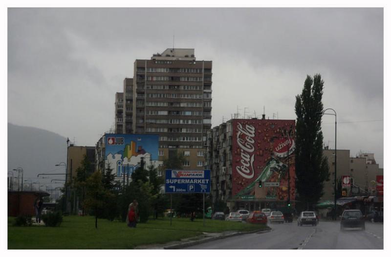 First impressions of Sarajevo