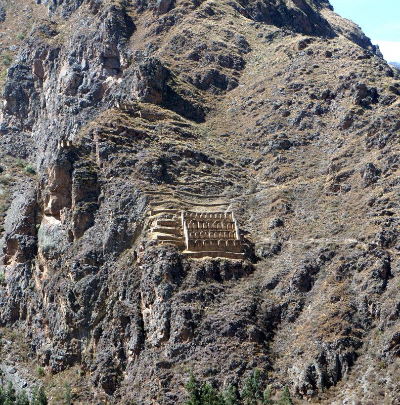 Inca ruins-grain storage