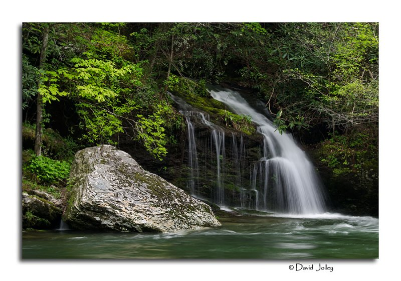 Falls Along the Little River Road