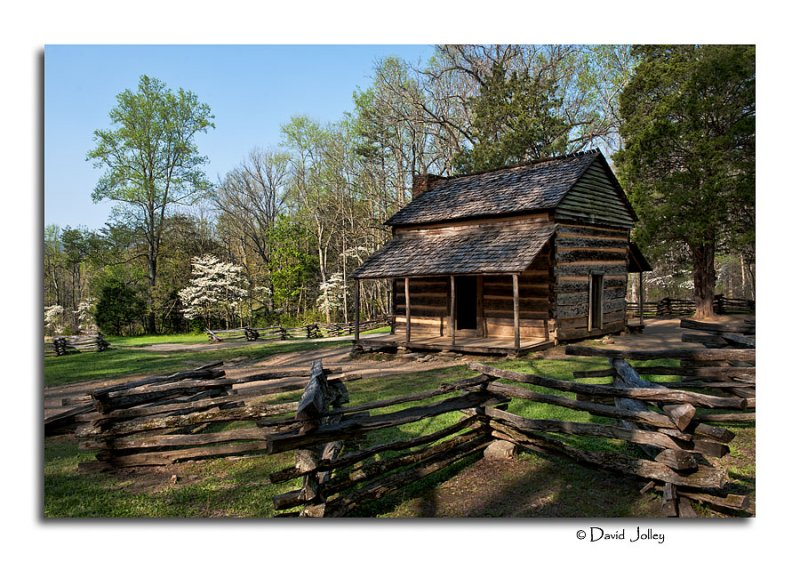The John Oliver Place - Cades Cove