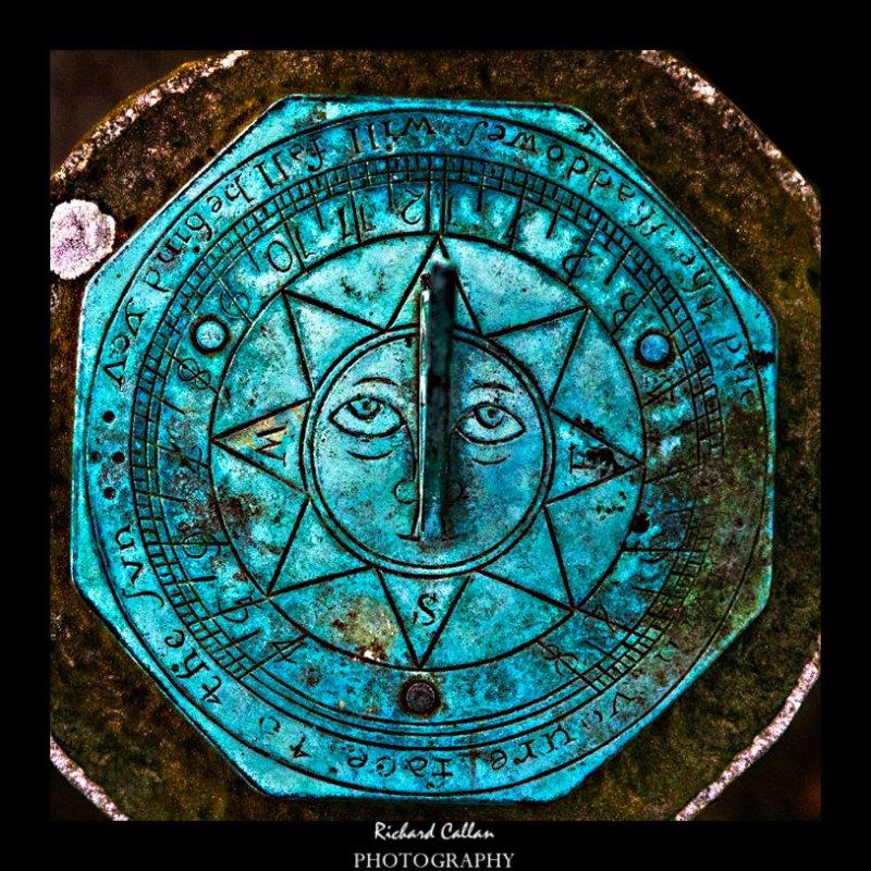 A sundial somewhere in St.  Brelades