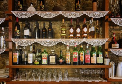 Selection of digestivi - Caffe San Rocco