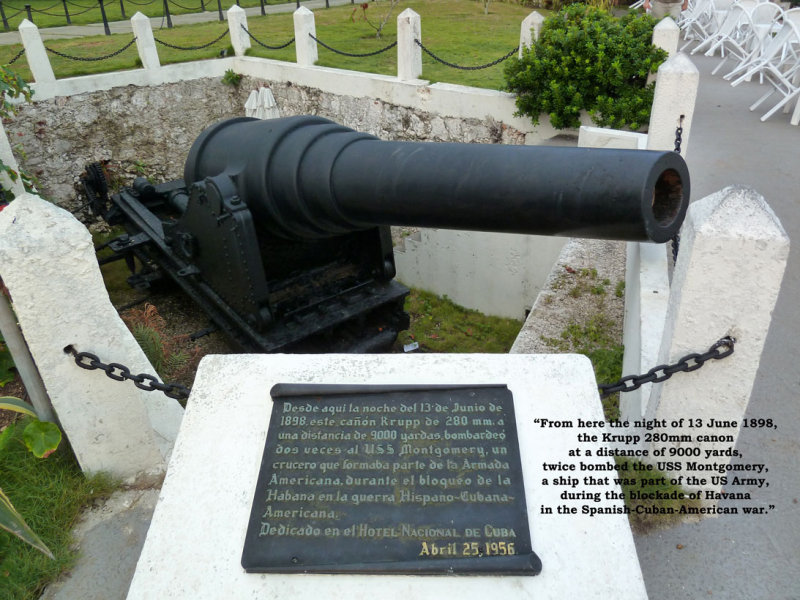 Canon from Spanish-Cuban-American War