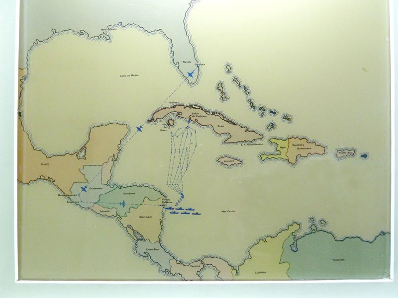 Bay of Pigs invasion map