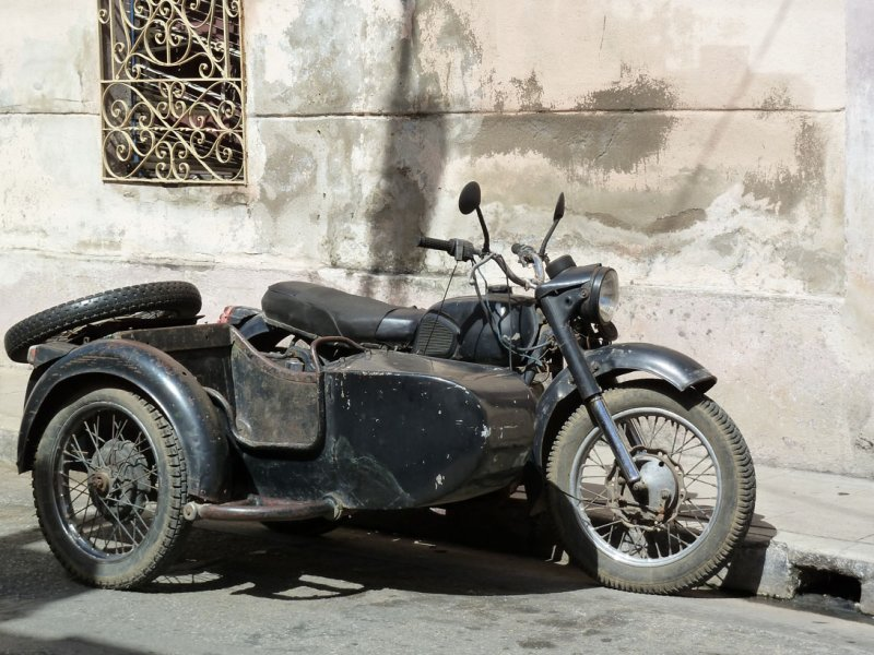 Russian motorcycle