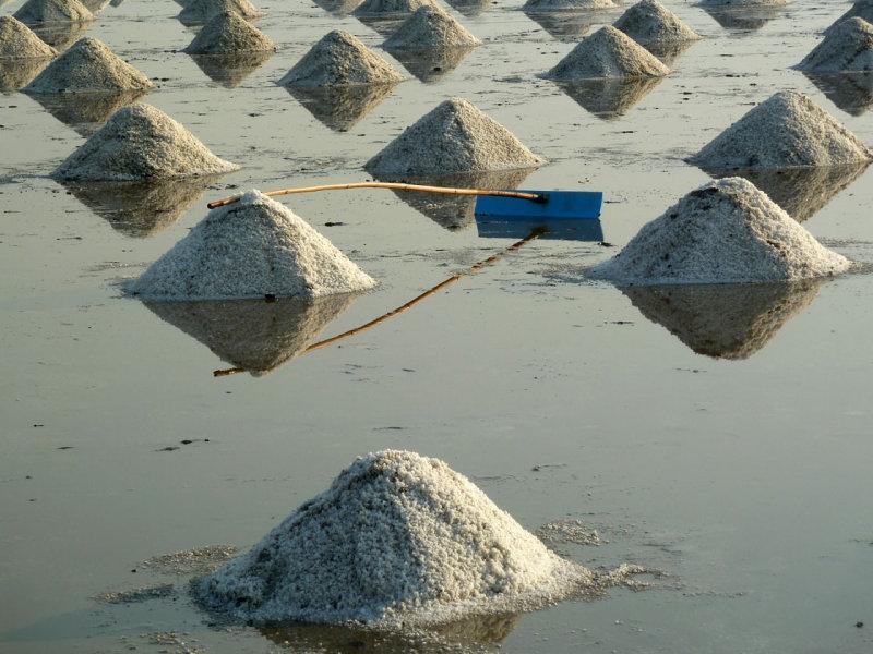 Salt mounds