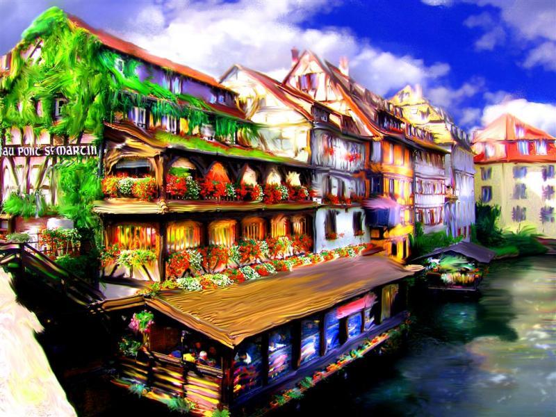Picturesque Strasburg