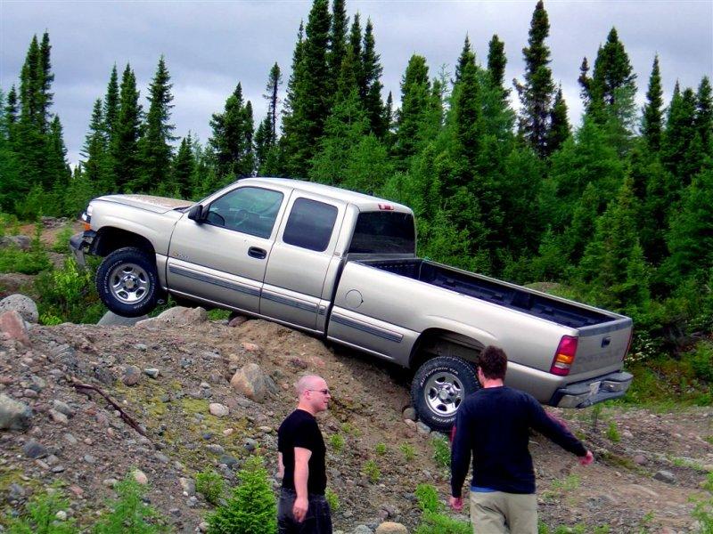 Nearest Tow Truck Is 250 km Away...