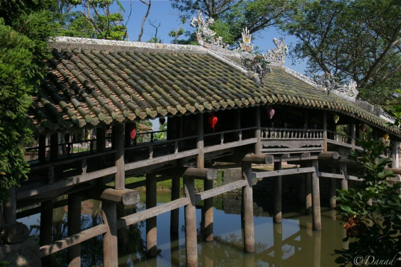 Old Thanh Toan wooden bridge